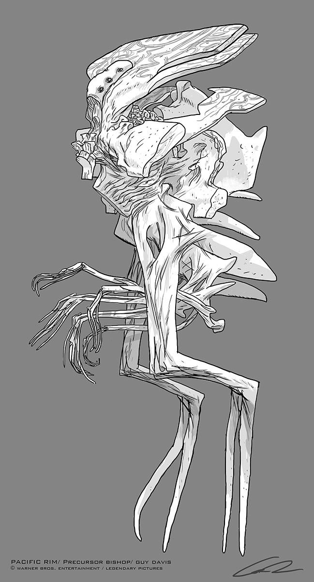 Kaiju Jaeger Concept Art