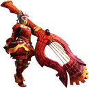 MH4U-Hunting Horn Equipment Render 001.png