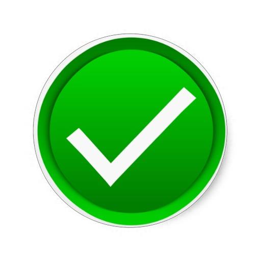 Images Green Tick Green Tick Transparent