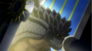 Rock Dragon arrives through the gate.png