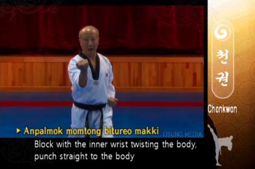 Inner Forearm Twist Block - Taekwondo Wiki