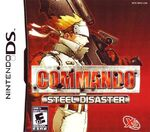 Commando Steel Disaster DS Cover
