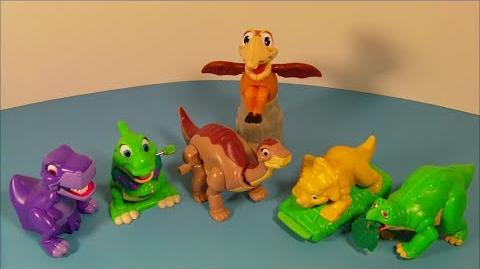 The Land Before Time Collention (Burger King, 1997)