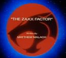 The Zaxx Factor