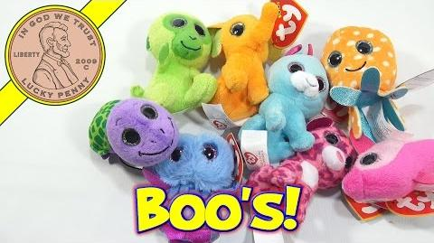 McDonald's TY Teenie Beanie Boo's Complete Set, Happy Meal Toys 2014