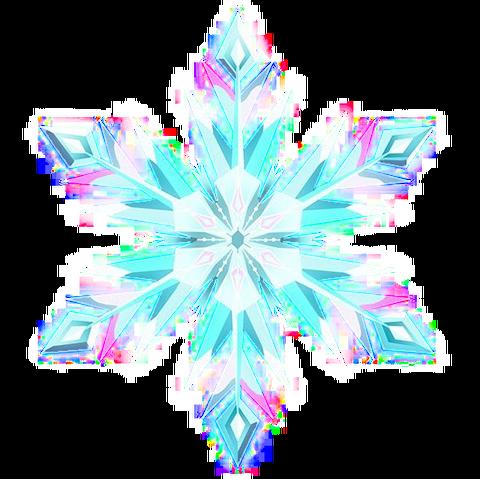 Image Frozen Elsas Snowflake Transparent Png
