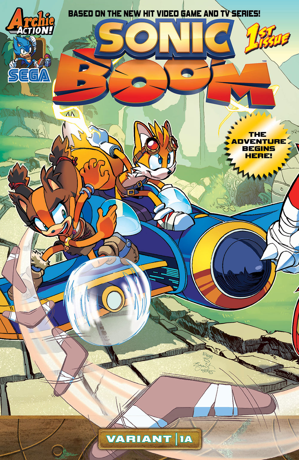Archie Sonic Boom Issue 1 Sonic