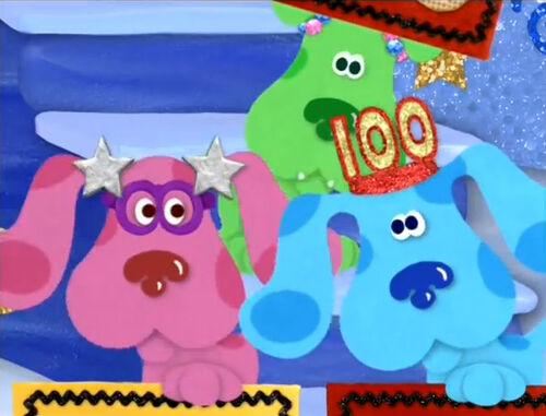 Image 100th episode celebration 038 jpg blue s clues wiki wikia