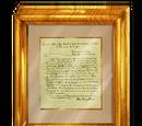 1822 John Quincy Adams Signed Letter