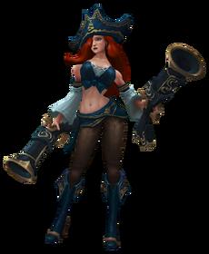 Miss Fortune Render