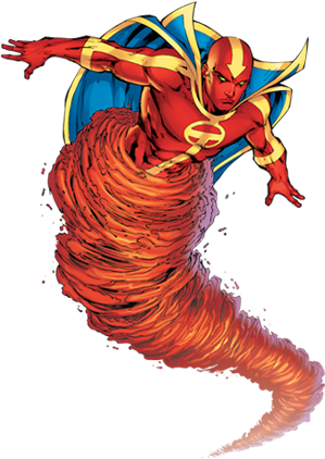 Image - Red Tornado.png - The Adventures of the Gladiators of ...