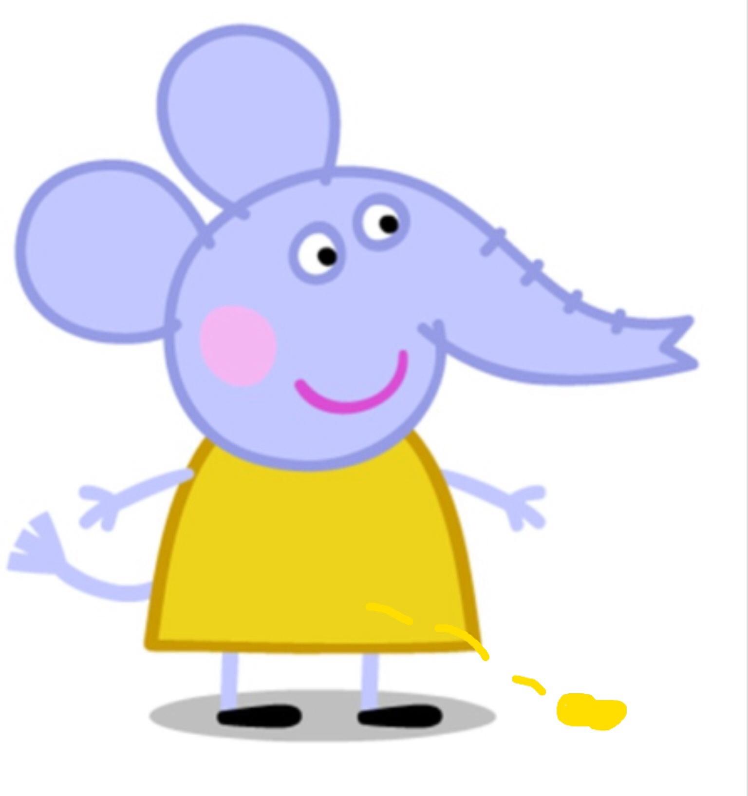 Emily Elephant Pees Peppa Pig Wiki