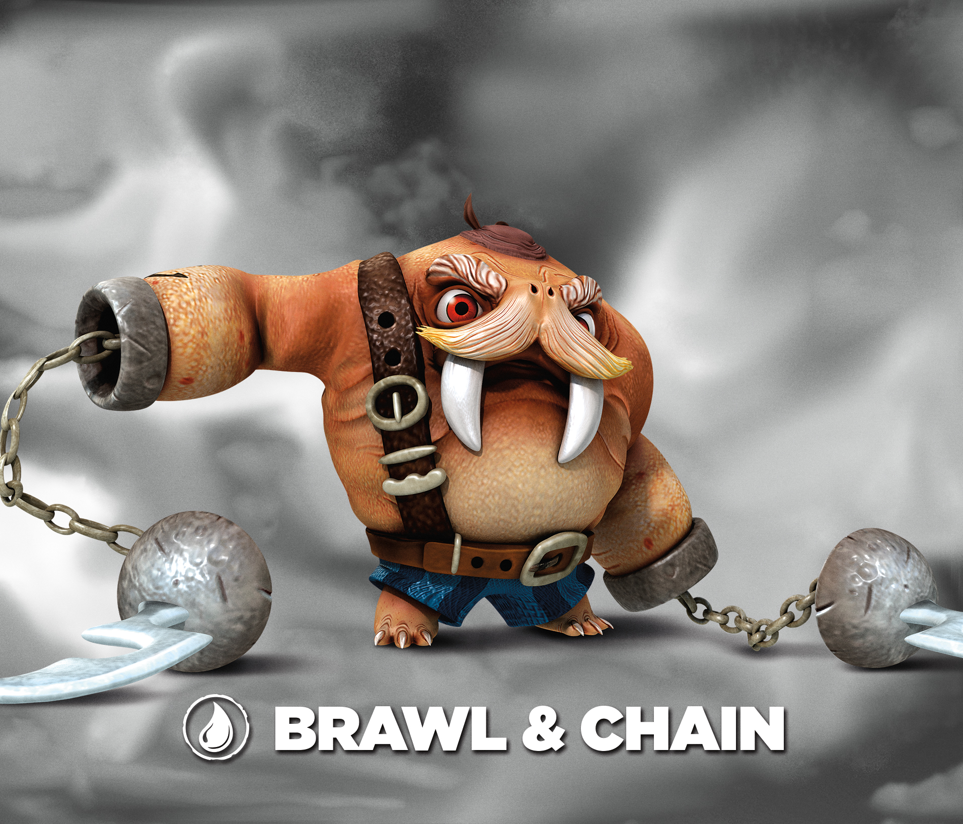 Brawl Amp Chain Villain Skylanders Wiki Wikia