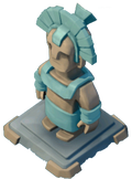 Statue Ice Guardian