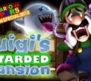 Super Mario 64 Halloween 2013: Luigi's Retarded Mansion