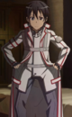 Kirito in K.O.B uniform.png