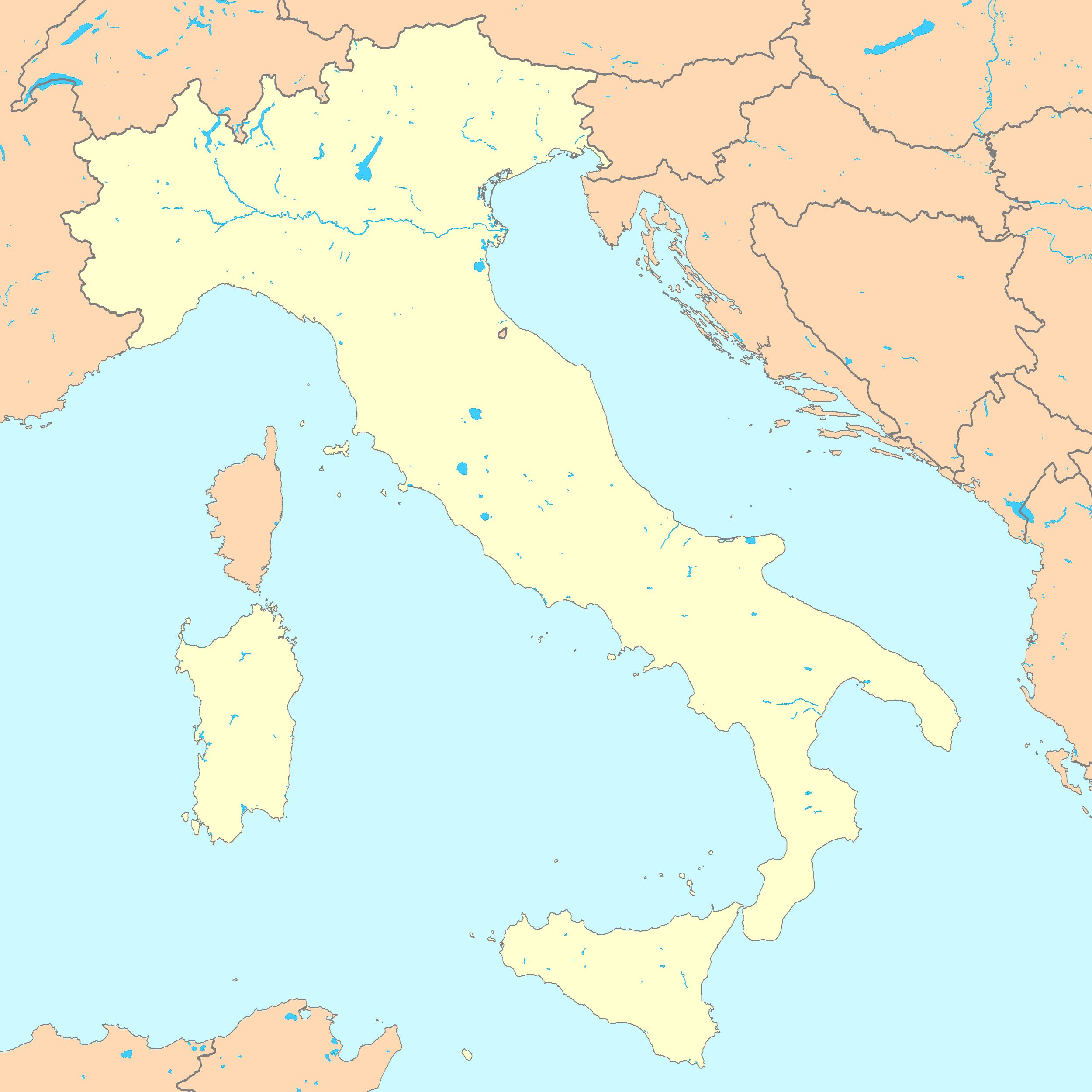 Map Capital Italy - Italy capital map