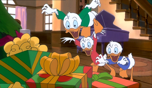 Image Huey Dewey And Louie Mickeys Once Upon A Christmas