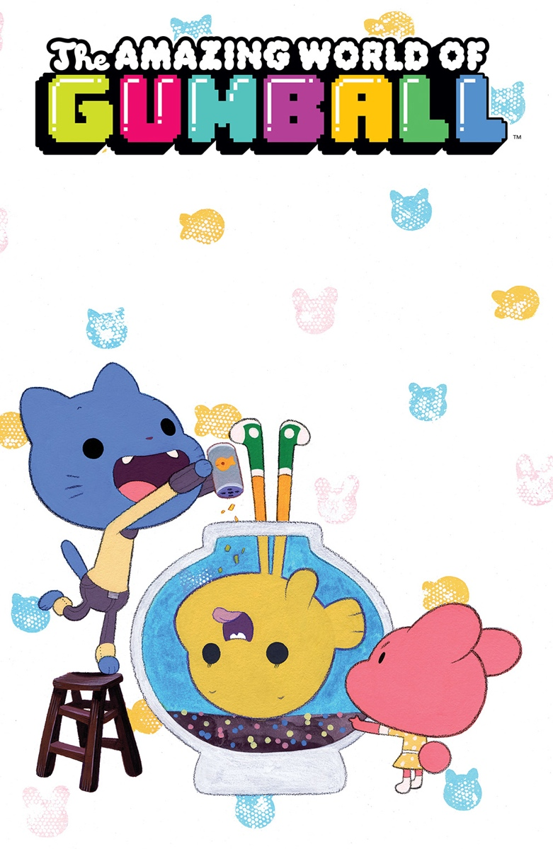 The Amazing World Of Gumball The Tba Issue 6 - The A...