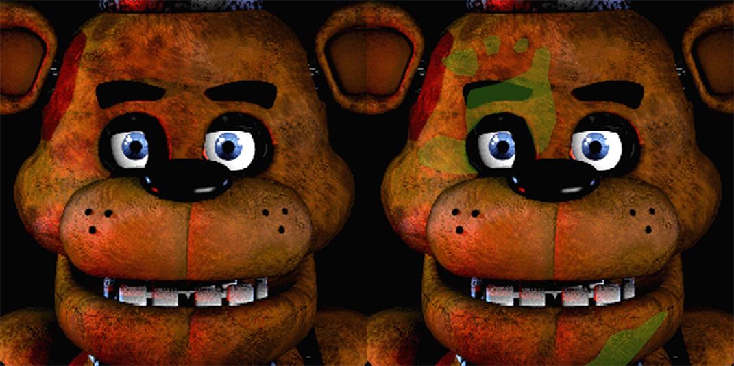 Freddy handprint