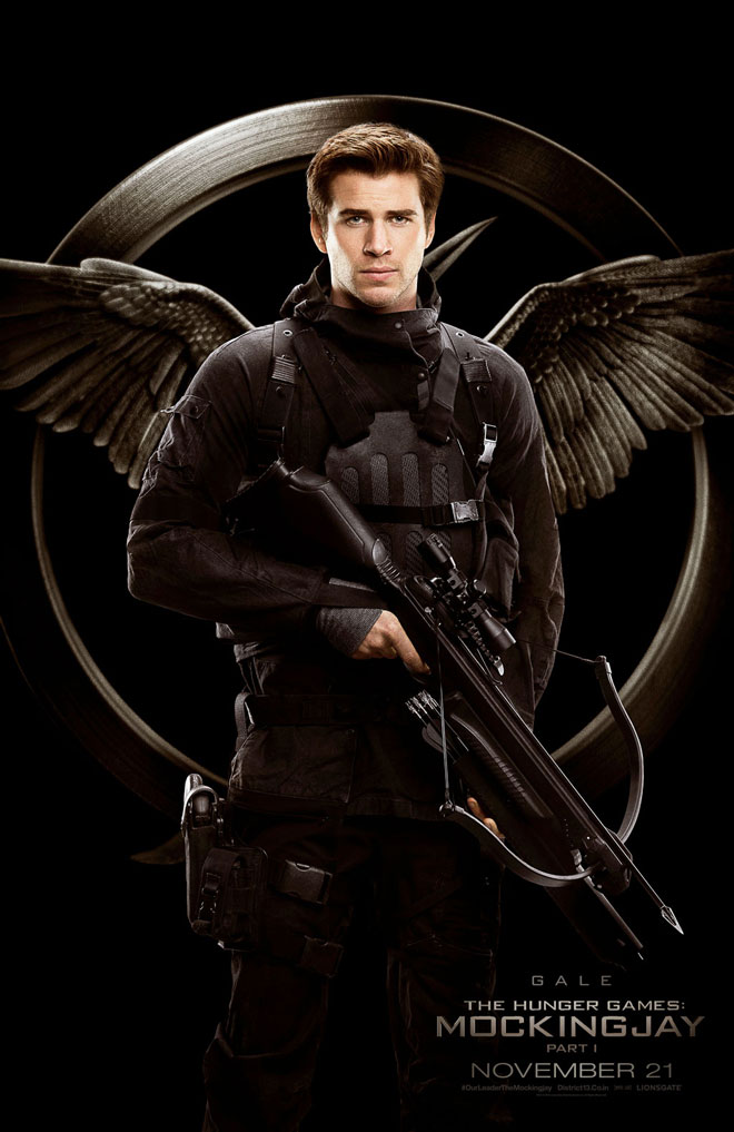 Gale Hawthorne ... Liam Hemsworth The Hunger Games Character