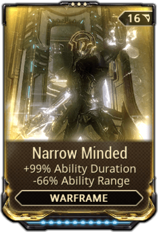 Narrow Minded Warframe Wiki Wikia