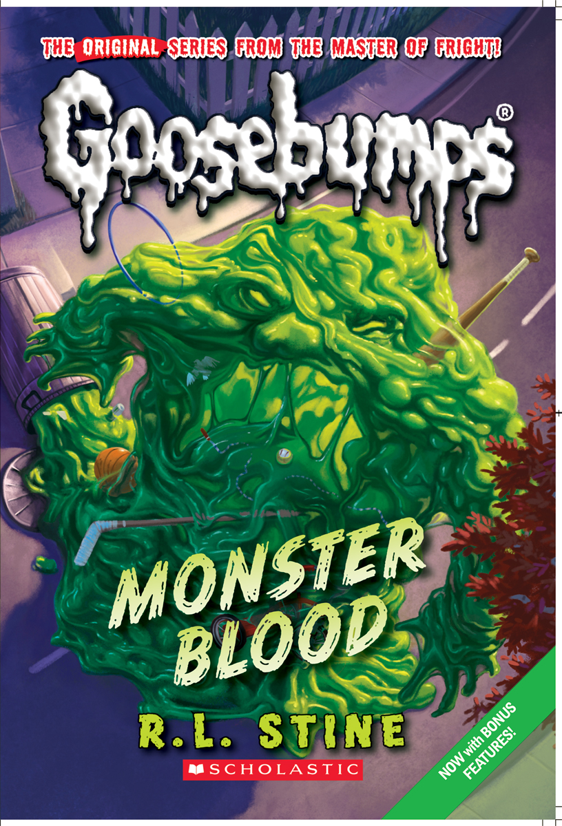Monster Blood ReprintGoosebumps Monster Blood