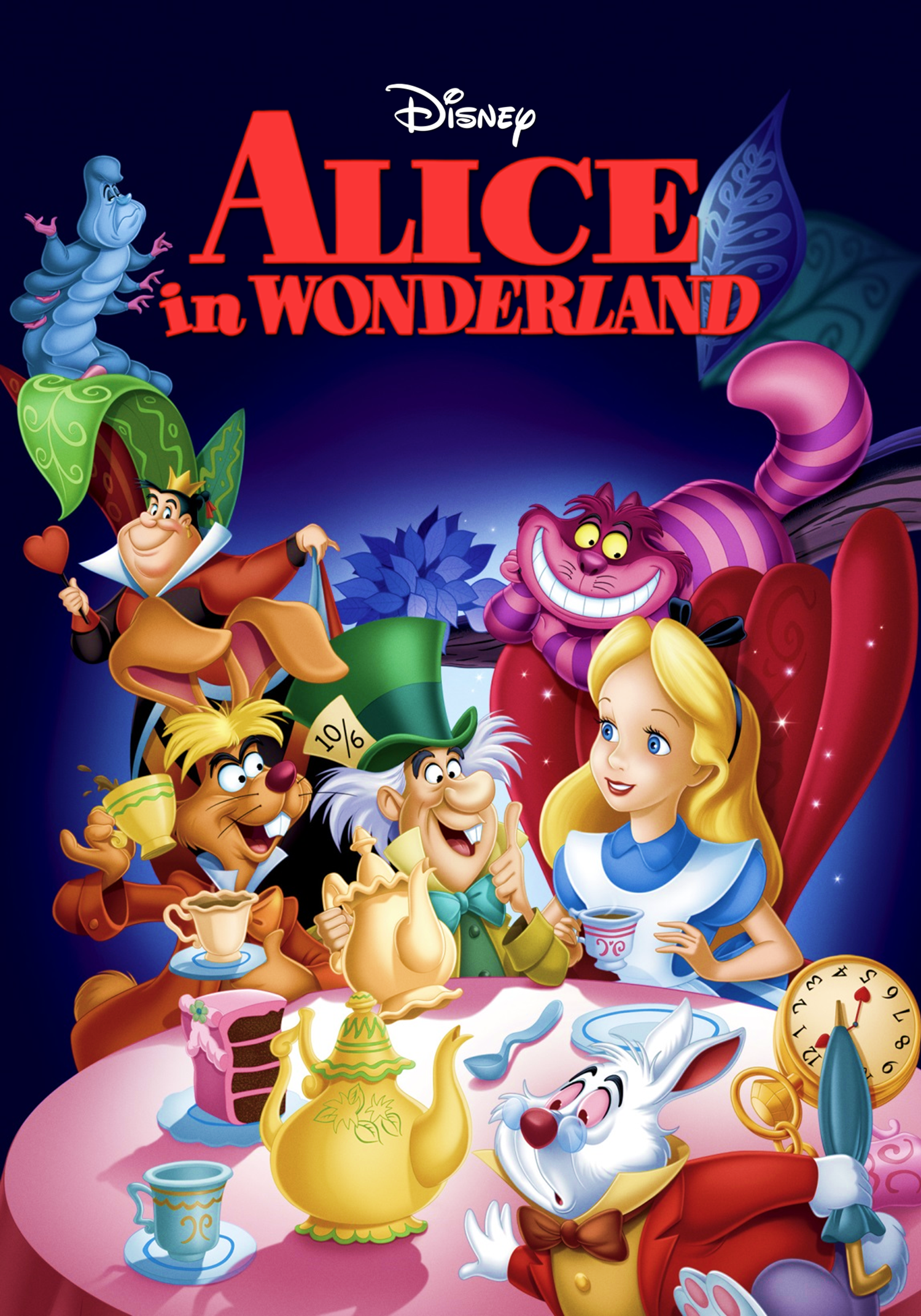 Epic Dvd Front Cover Image - Alice in Wonde...