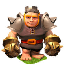 Giant level ... Clash Of Clans Level 4 Giants