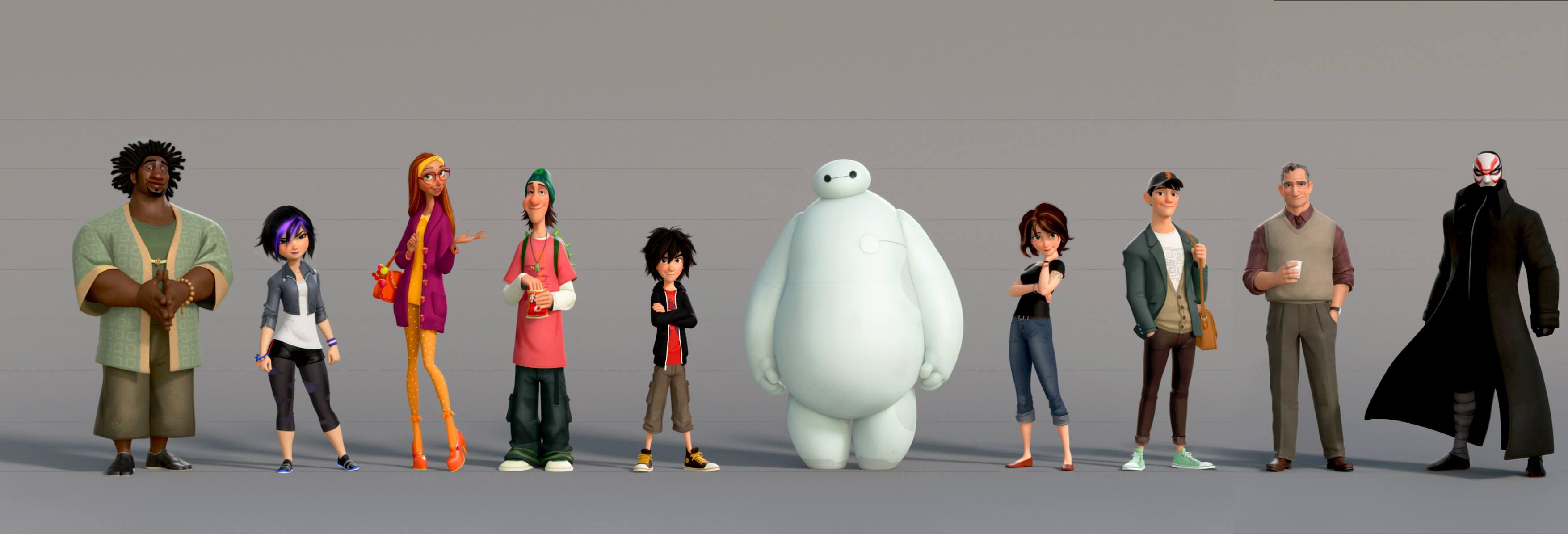 Image Big Hero 6 Characterspng Disney Wiki