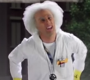 Images of Dr. Emmett Brown