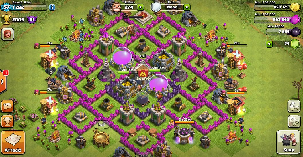 Good Th7 Bases Clash Of Clans Wiki