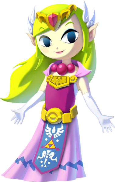 Image 378px Princess Zelda The Wind Waker Hd Png