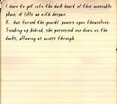 Professor's diary, 7