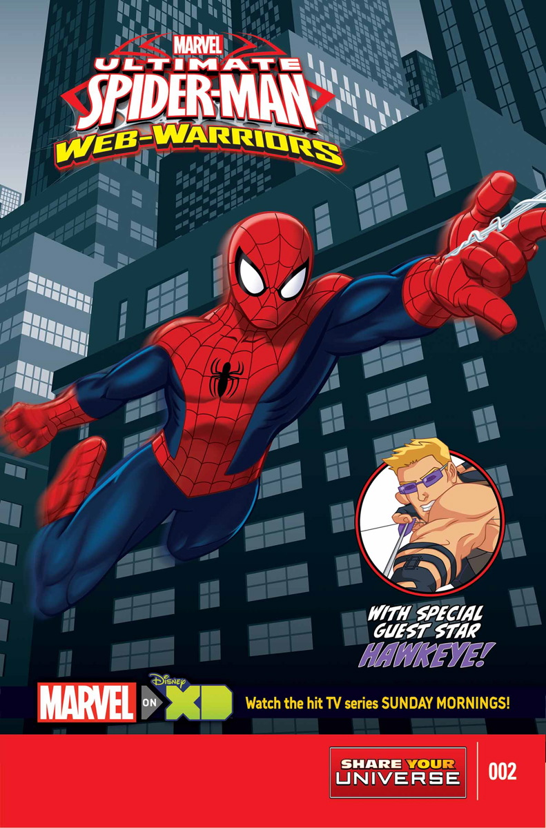 Marvel Ultimate Spider-Man Web-Warriors - 104 pcs