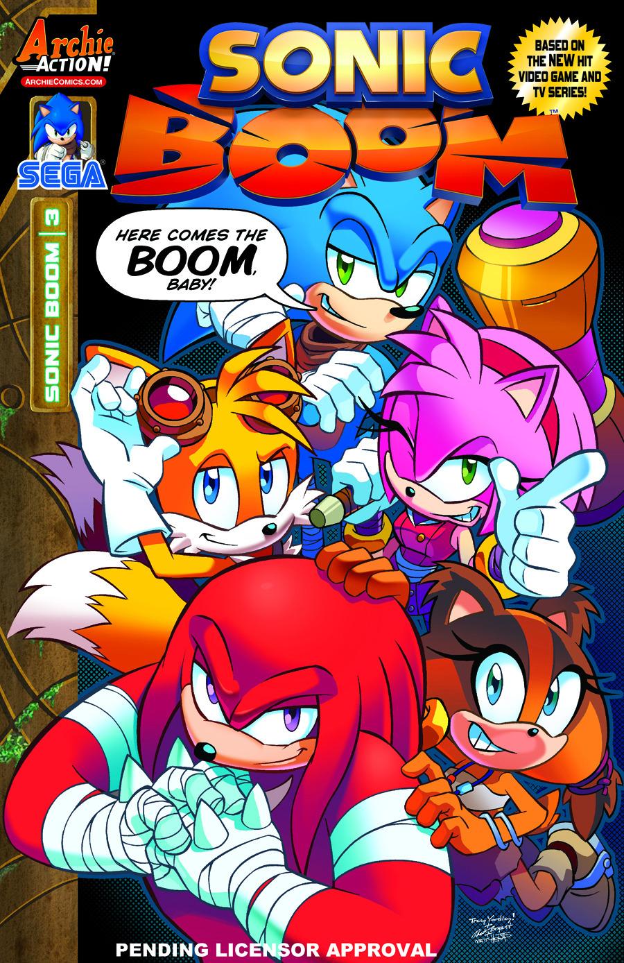 Archie Sonic Boom Issue 3 - Mobius Encyclopaedia - Sonic ...