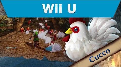 Wii U - Hyrule Warriors - Cucco Trailer