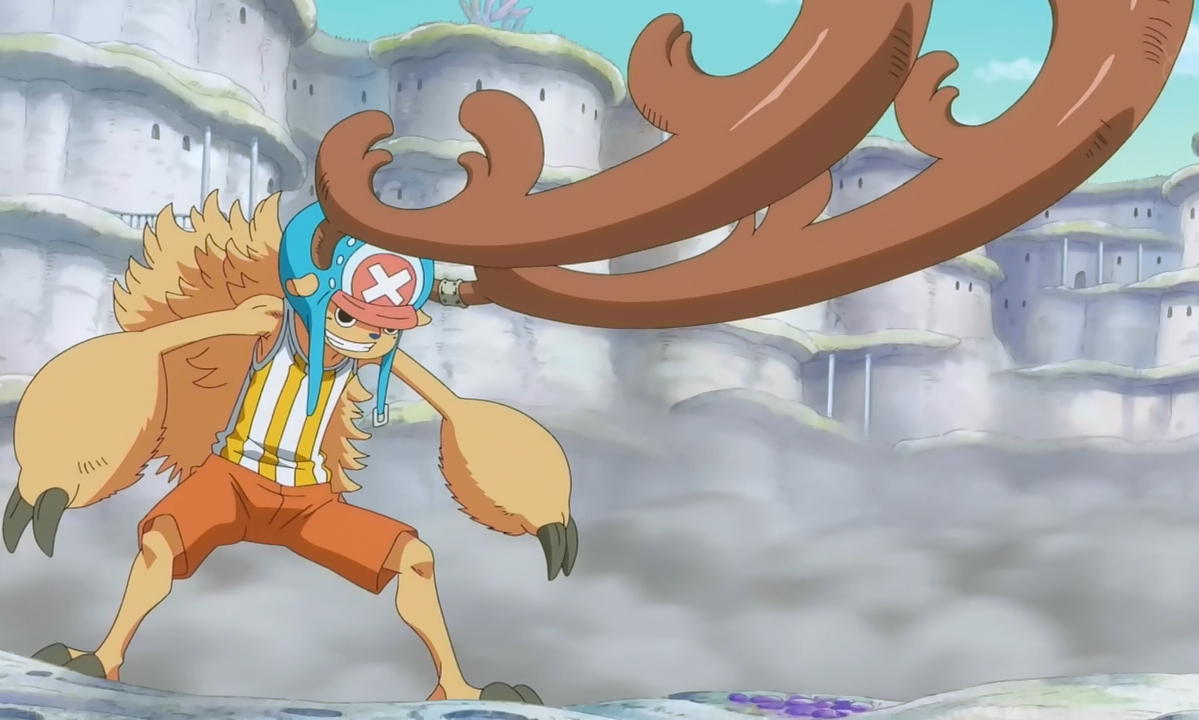 Chopper has the Human Fruit; Model Giant : OnePiece