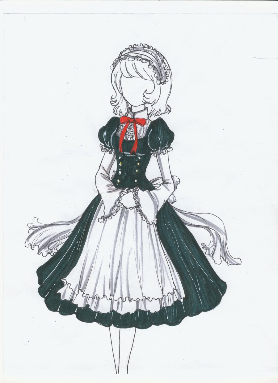Image The Maid Outfit By Blueberrysweet d38kfo8jpg RWBY Fanon