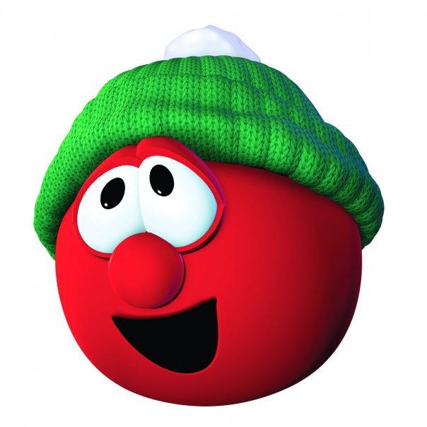 Image - Bob the Tomato (Christmas).jpg - VeggieTales - the ... Veggie Tales Larry The Cucumber And Bob The Tomato