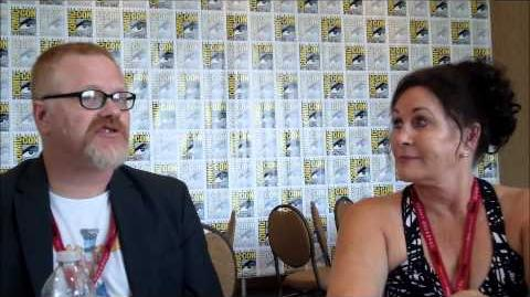 Rocky and Bullwinkle Q&A with Gary Trousdale & Tiffany Ward (SDCC 2014)