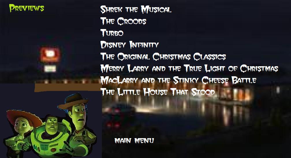 Sneak Peeks From Toy Story Of Terror 2013 Dvd Classic