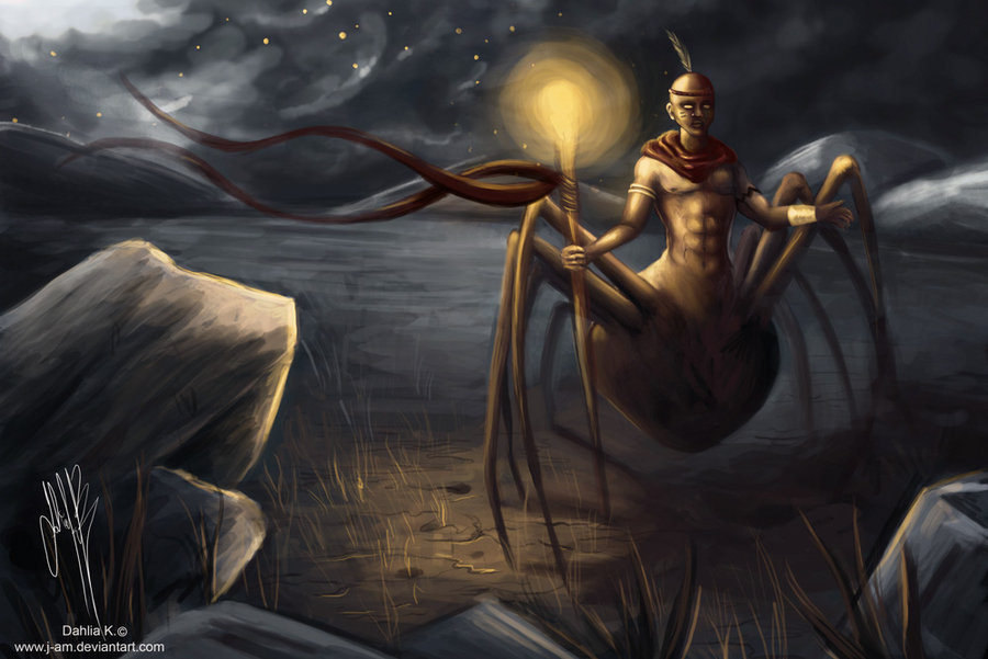 African Spider God is a West African God