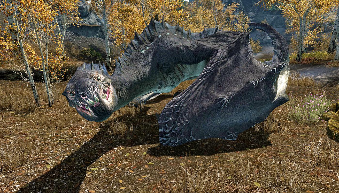 Serpentine Dragon - The Elder Scrolls Wiki