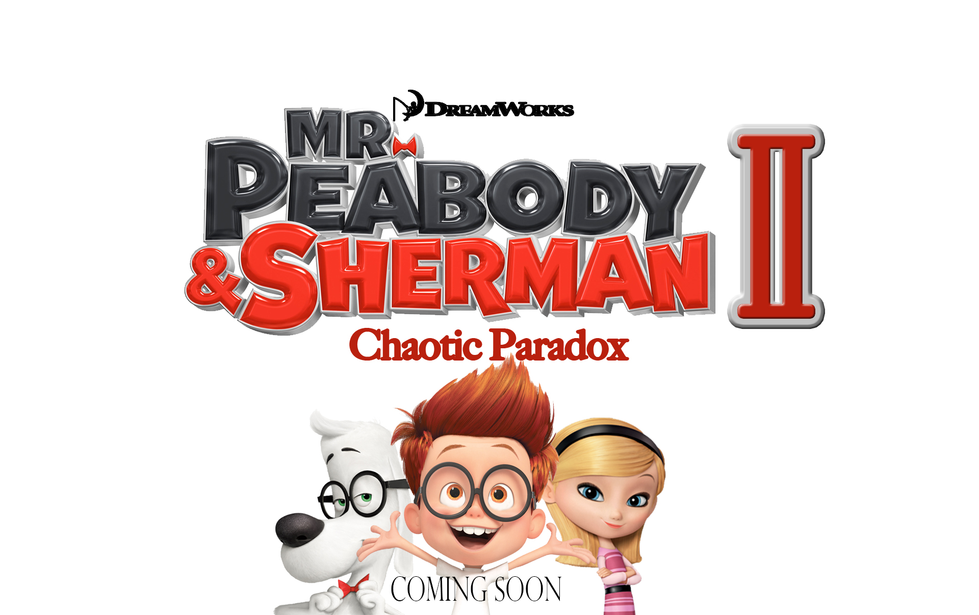 the gallery for gt mr peabody and sherman dvd cover