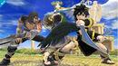 Pit Sombrio, Magno y Palutena en el Templo de Palutena Super Smash bros. para Wii U.jpg