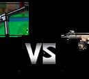 Jacky 50A/Red-34 (Modern Combat 5) Vs Eindringling (Pixel Gun 3D)