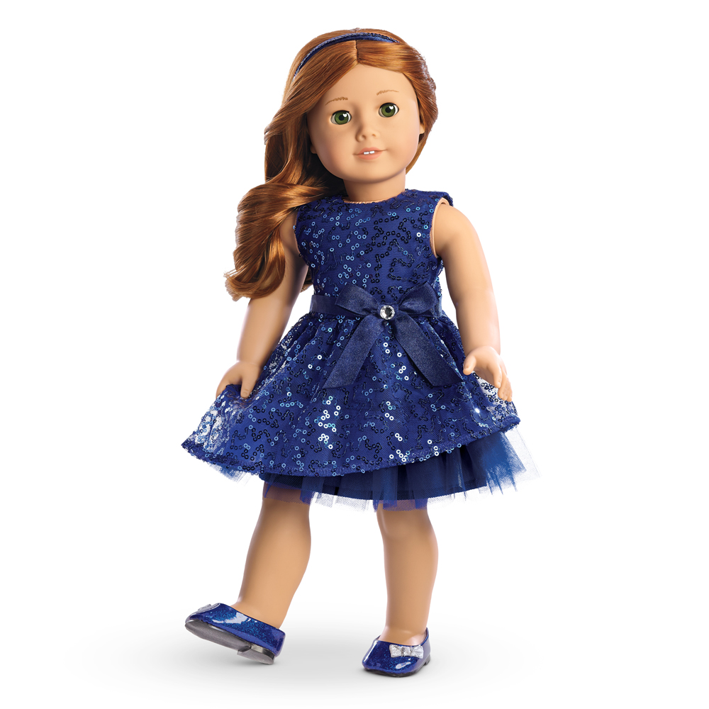 Girls Holiday Dresses With Doll Dresses - Formal Dresses