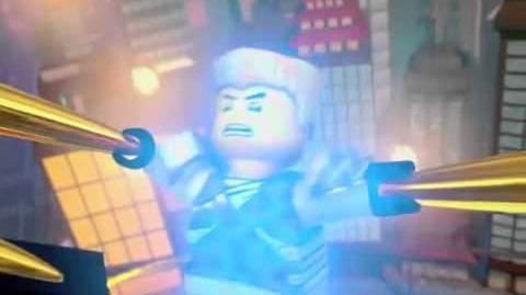 "LEGO NINJAGO Sneak Peek – Zane The Titanium Ninja, ""Full Digital"" The Fold"