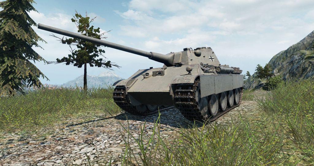Panther Ausf.F mit 8,8cm KwK 43 L/71Fan Feed